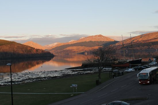 The Inveraray Inn:                   Room with a View