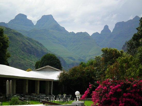 Cathedral Peak Hotel:                                     Paradise
