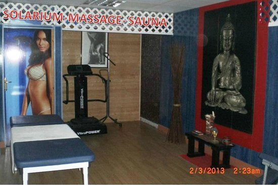 Olympic Beach Gym: BEAUTY AND RELAXING ROOM