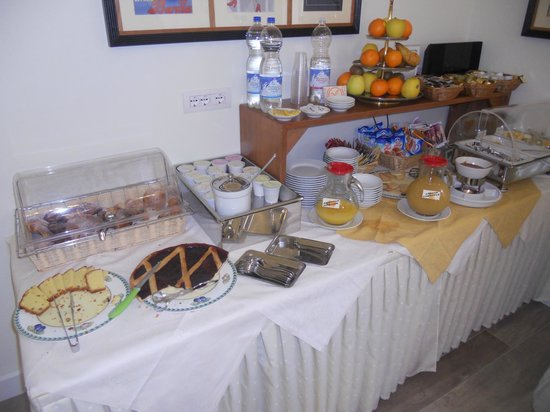 Hotel Italia:                   buffet