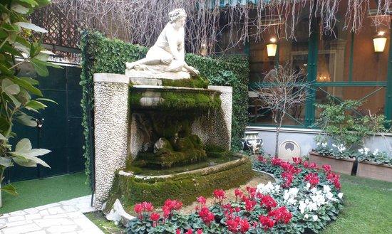 Quirinale Hotel: Garten