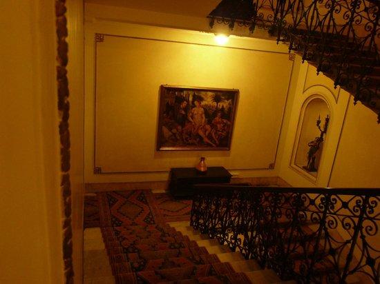 Quirinale Hotel: Hotelflur