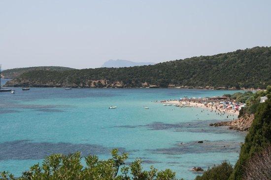 Spiaggia di Tuerredda:                   Vista di Tuerredda