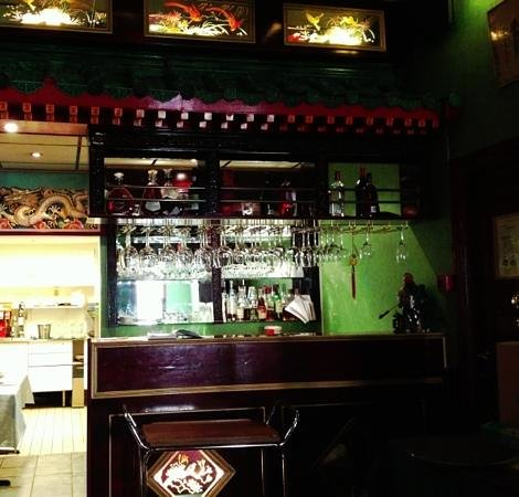 Tang's Restaurant:                   Bar