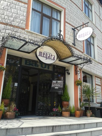 Megara Palace Hotel: Haupteingang