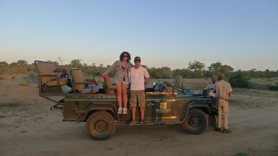 Tanda Tula Safari Camp:                   Out in the wilds of Africa !