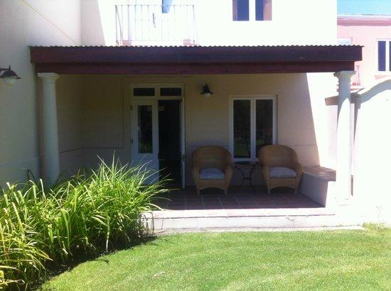 Spier Hotel: View of room from garden
