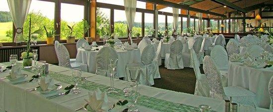 Gasthof Waldachtal: Hochzeitstafel