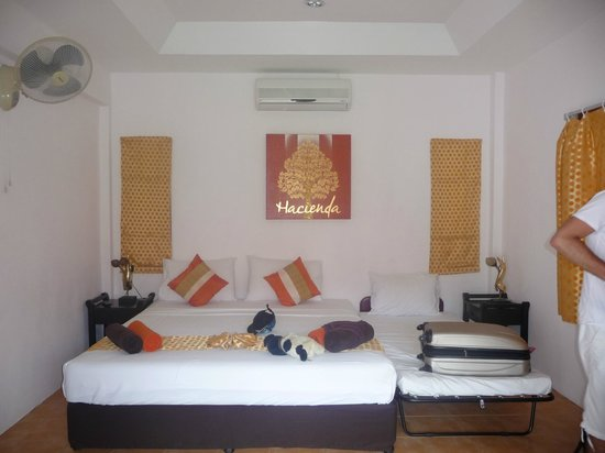 Hacienda Beach Resort :                                     chambre