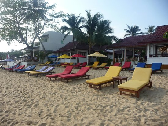 Hacienda Beach Resort:                                     plage