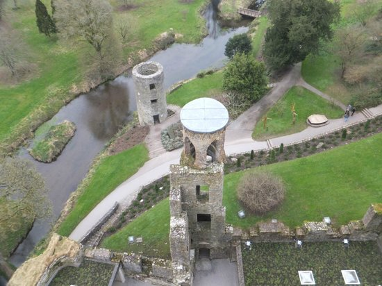 Zamek i Ogrody Blarney: View from the top of Blarney Castle