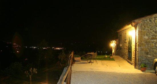 Casale della Torre: Vista notturna