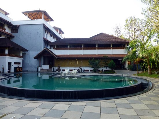 The Elephant Court Thekkady:                   Swimming Pool area
