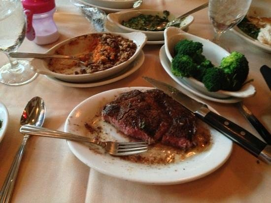 Ruth's Chris Steak House :                   this was the half-way point :)