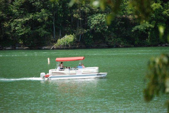 Almond Boat and RV Park: Pontoon Boat Rentals
