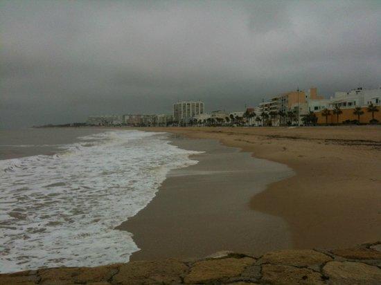 Rota Beach Winter Time Picture Of Navy Lodge Rota Spain