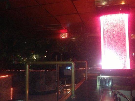 Baci Restaurant & Bar :                   sittng at the bar enjoying a drink