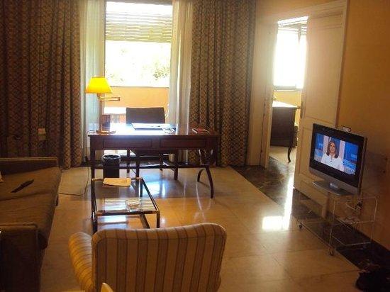 Hotel La Moraleja:                   room