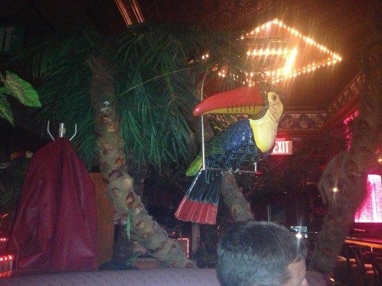 Baci Restaurant & Bar :                   sitting at dinner