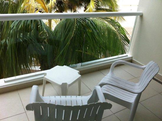 Isla Mujeres Palace: Balcony