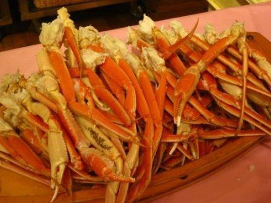 Dai-ichi Takimotokan: Crabs legs - Dinner buffet