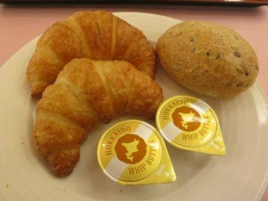 Dai-ichi Takimotokan: Croissant - breakfast