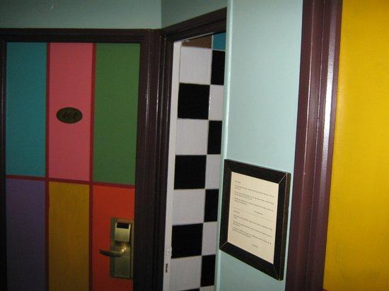 Hotel Monte Carlo : Hallway