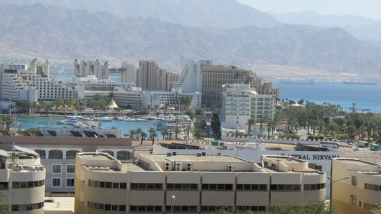 Comfort Hotel Eilat :                   view from the window