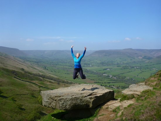 Sally Mosley Guided Walks: It's good to be alive when you walk in the Peak District
