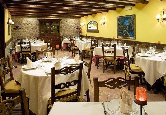 Restaurante Palacio de Pujadas: Comedor Asador