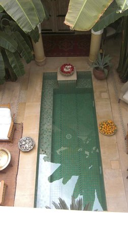 Riad Azoulay:                   Il patio