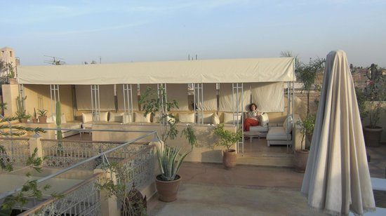 Riad Azoulay:                   la terrazza
