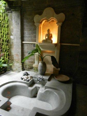 The Payogan Villa Resort & Spa: Baignoire