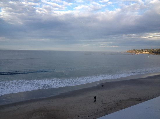 Pacific Edge Hotel on Laguna Beach:                                     View from room 701