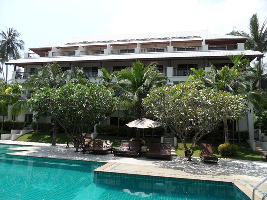Lamai Buri Resort:                   Main building