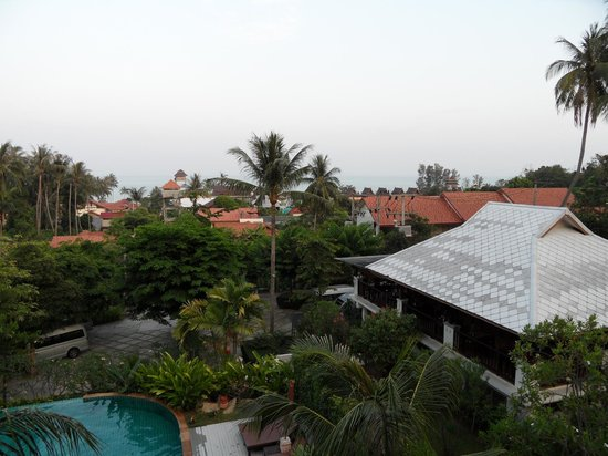 Lamai Buri Resort:                   View from Seaview room