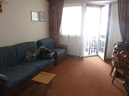 Hotel Alaska Cortina: salotto