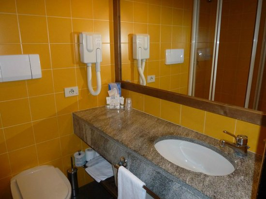Hotel Alaska Cortina : Bagno
