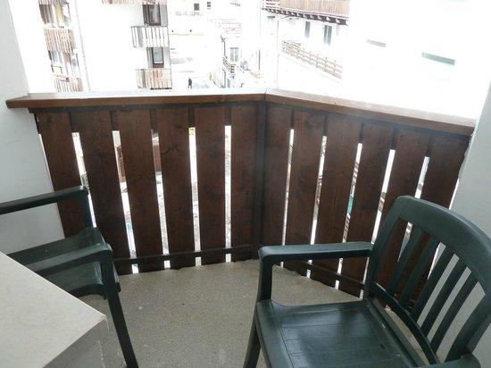 Hotel Alaska Cortina: Balcone