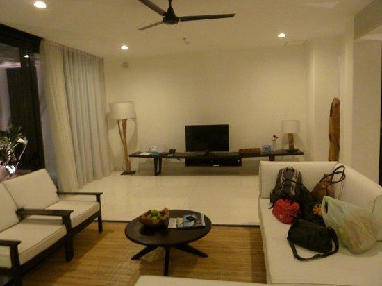Nongsa, อินโดนีเซีย:                                     Living room