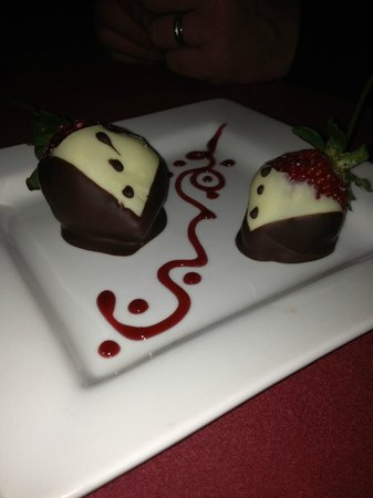 The Hilltop Restaurant:                   Tuxedo Strawberries