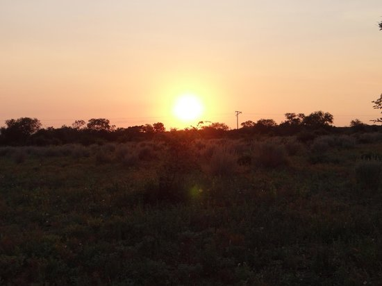 Garonga Safari Camp:                                     Sunset