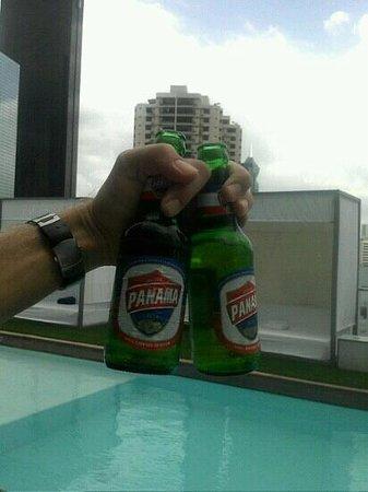 Manrey Boutique Hotel:                   Panama rooftop