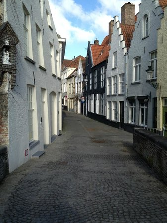 Number 11 Exclusive Guesthouse:                   View of street of which the inn is located