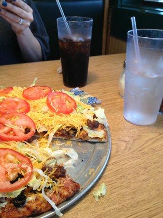 Abby's Legendary Pizza: yum - taco pizza