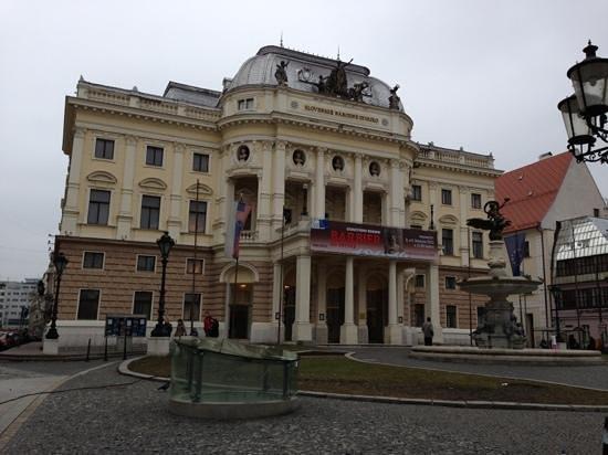 Slovak National Theatre: theatre