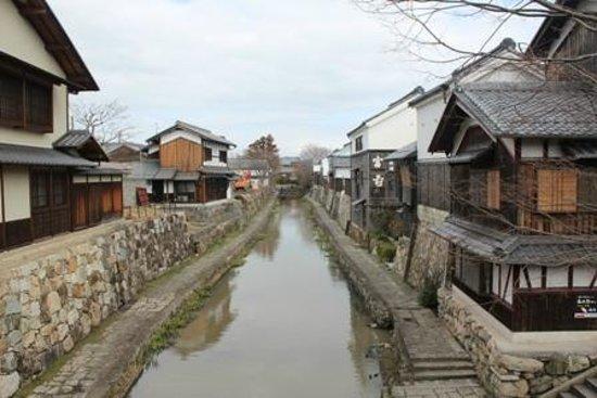 Omihachiman, Japan:                   八幡堀