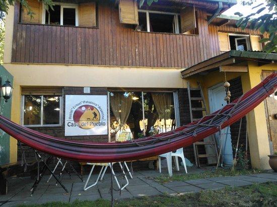 Hostel Casa del Pueblo:                   Exterior