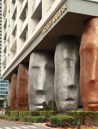 Viceroy Miami: entrada