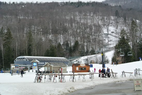 Okemo Mountain Resort:                   View of Jackson Gore base lift